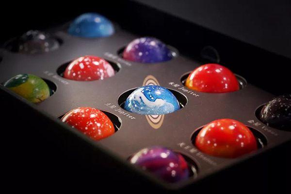 当巧克力美到你都不忍心吃,它该长啥样?