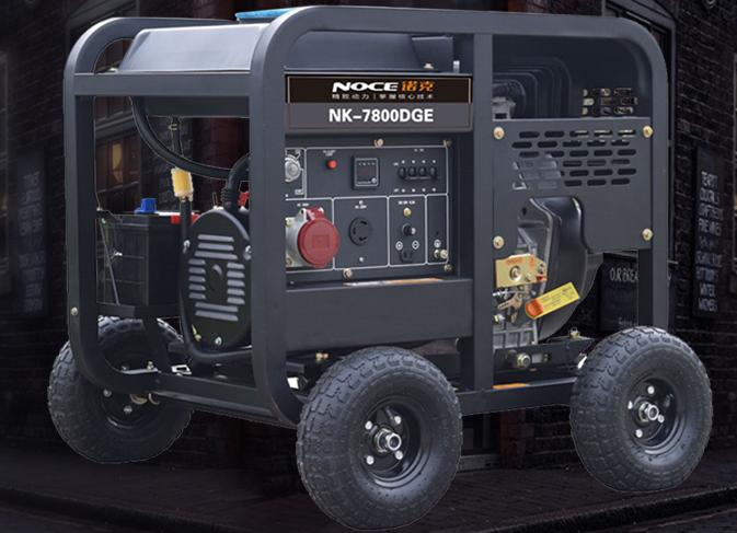 诺克柴油发电机品牌产品效果图片