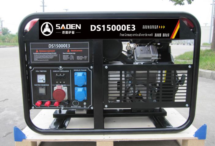 德国萨登10kw静音汽油发电机产品图