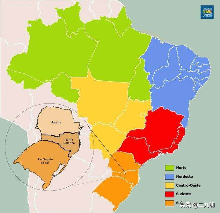 为什么很少人去巴西旅游(巴西有多大呢)