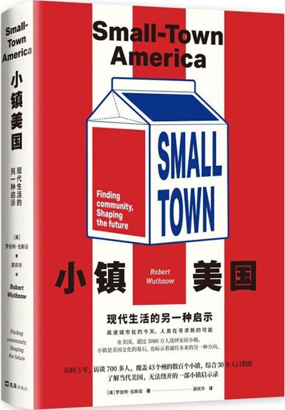 《小镇美国:现代生活的另一种启示》封面图片