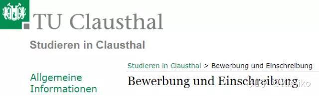 httpswwwstudiumtu clausthaldebewerbung und einschreibung - Tu Clausthal Bewerbung