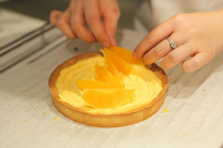 酸甜柑橘挞才是夏天的正确打开方式