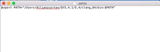 Mac下Qt的qmake命令如何设置最为高效? - 知乎