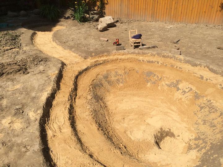 庭院建造池塘的造景过程【转自weibo:@马锐拉】插图(18)
