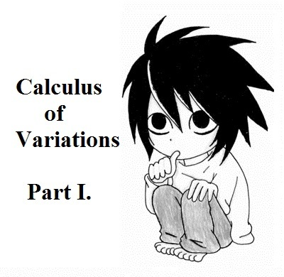 变分法简介Part 1.(Calculus of Variations)