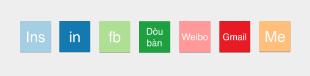 页面顶端的icon就是用Keynote+RColorBrewer做的
