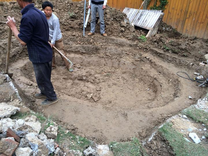 庭院建造池塘的造景过程【转自weibo:@马锐拉】插图(15)
