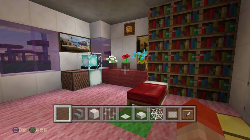 记录下两个孩子在MineCraft里面还原公寓的经历