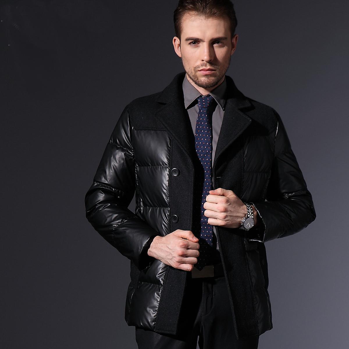 男士冬天如何穿正装?