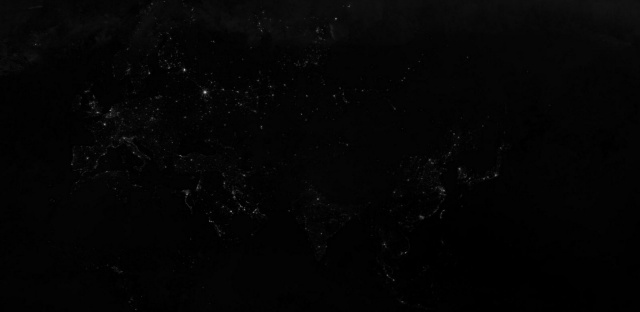 世界夜晚卫星地图_怎么解读这张世界夜晚灯光图? - 知乎