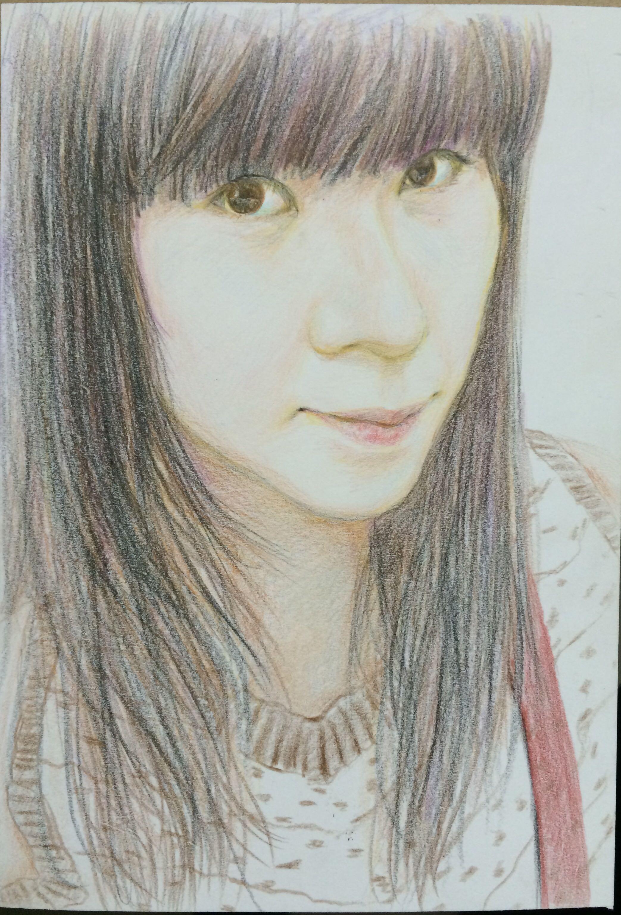 手绘 - Magazine cover