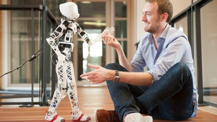 Poppy-3D打印机器人
