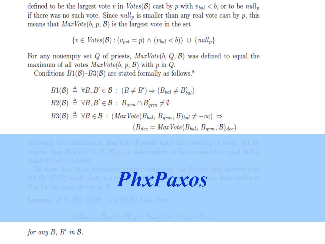 Paxos理论介绍(1): 朴素Paxos算法理论推导与证明