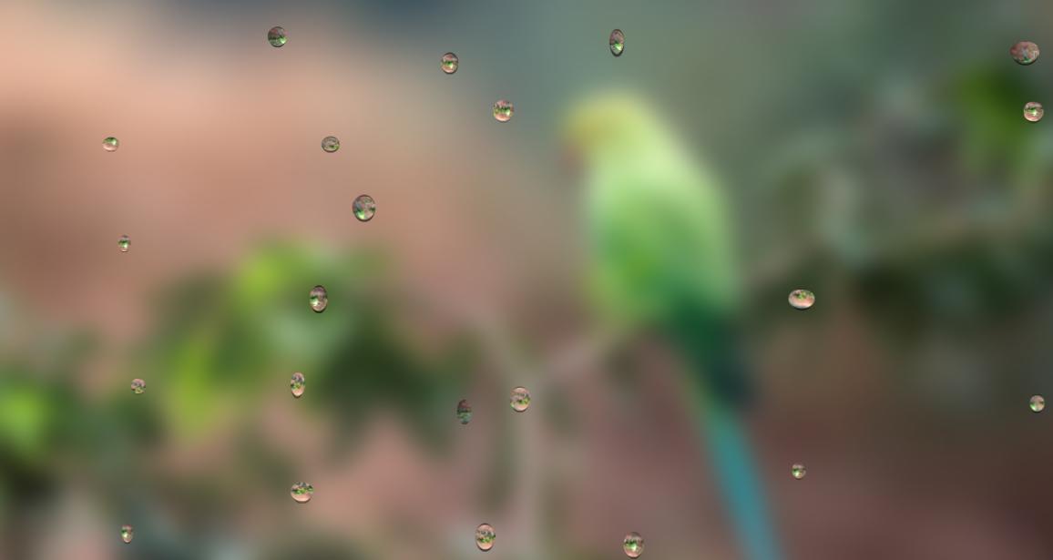 是谁,在敲打我窗-CSS雨滴动画效果