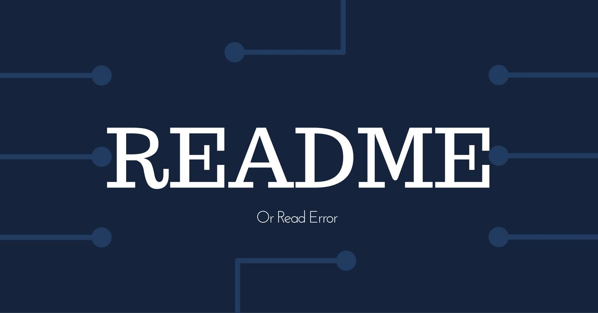 如何编写开源项目的 README 文档