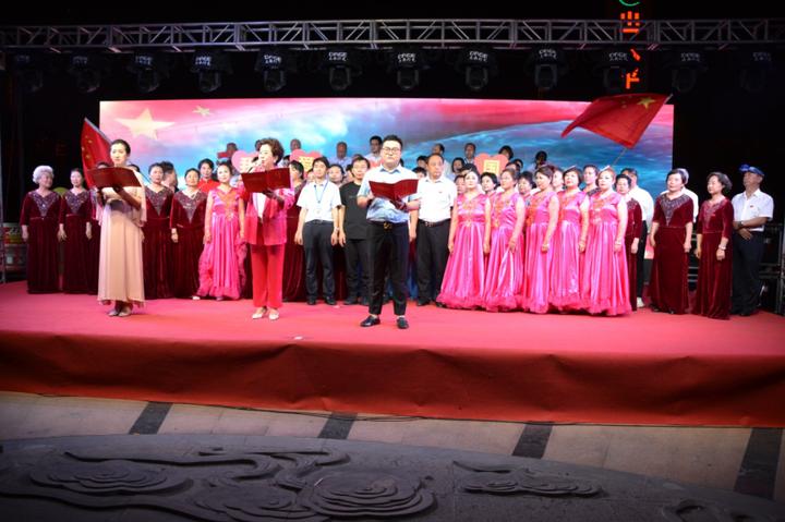 """我为祖国唱赞歌、我唱赞歌给党听——青龙物业举办""""红船颂""""文艺晚会"""