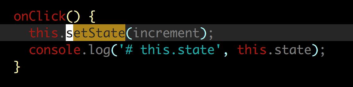 setState何时同步更新状态