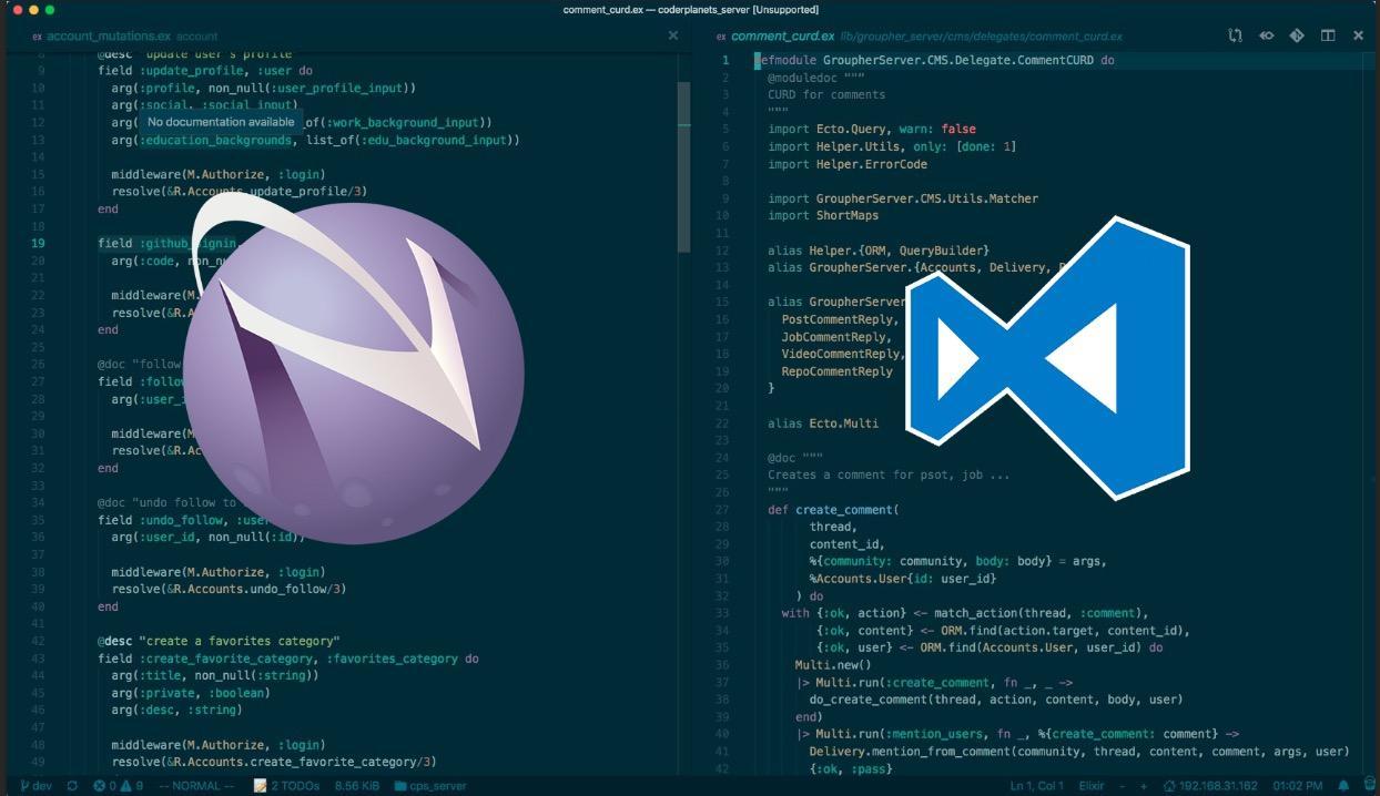 从 Emacs 和 Vim 到 VSCode