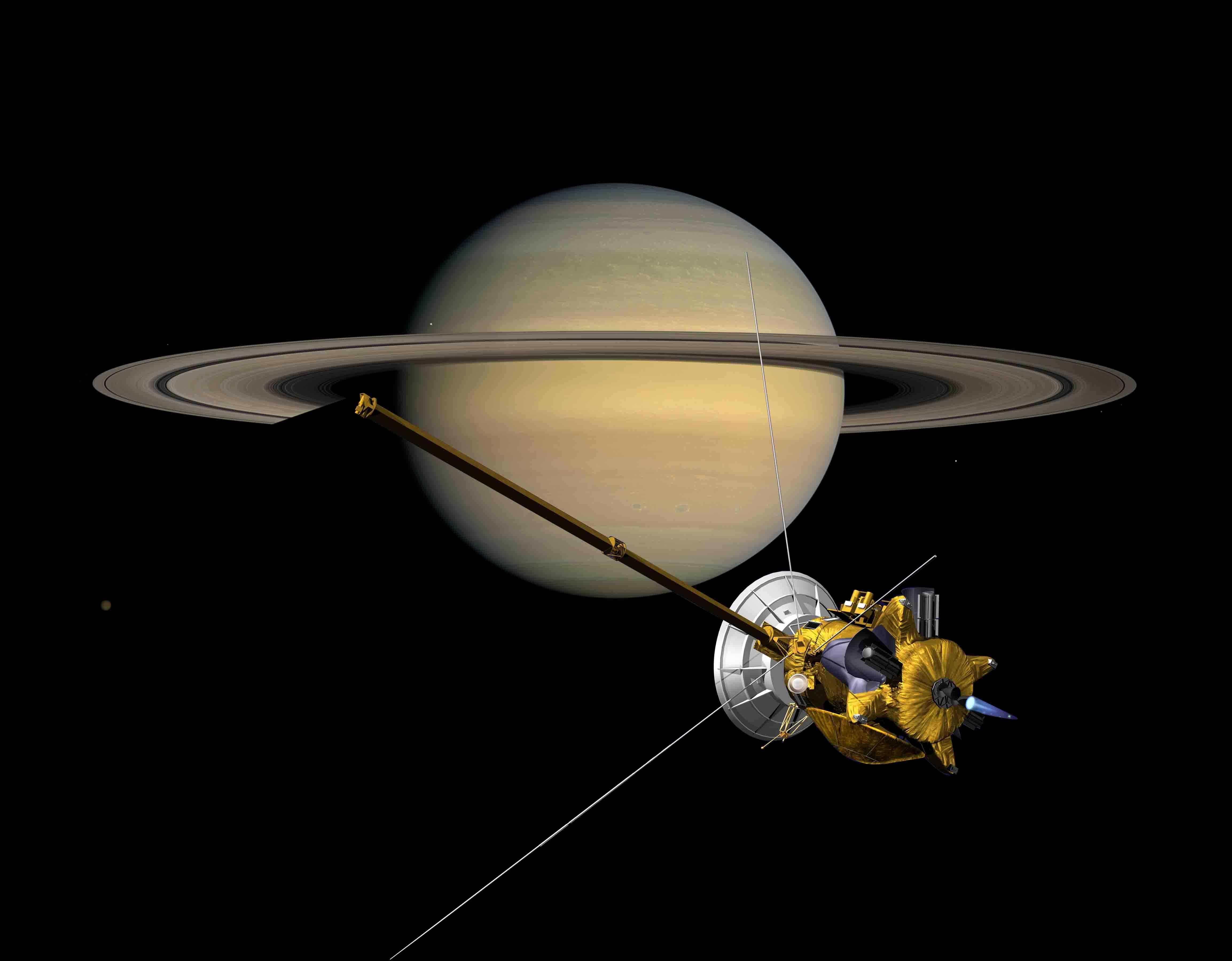 saturn cassini spacecraft - HD1024×799