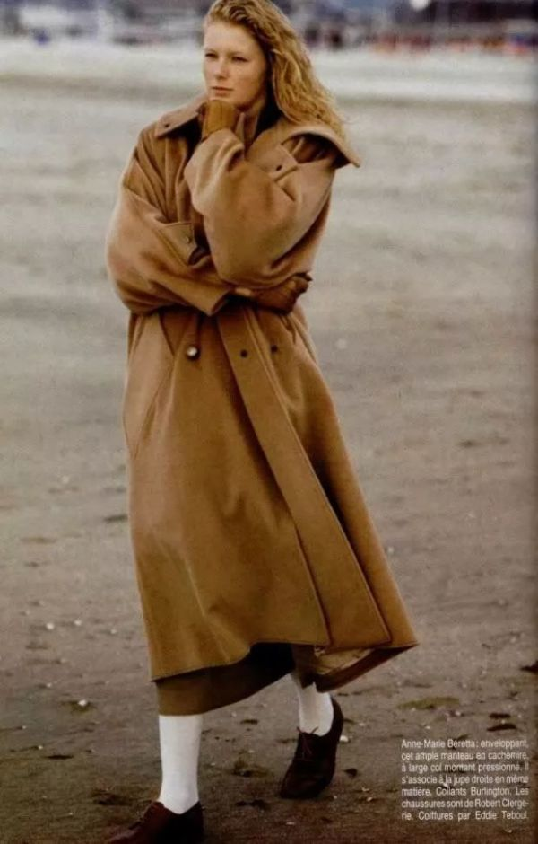 """""""大衣是女人的第一个藏身之所"""""""