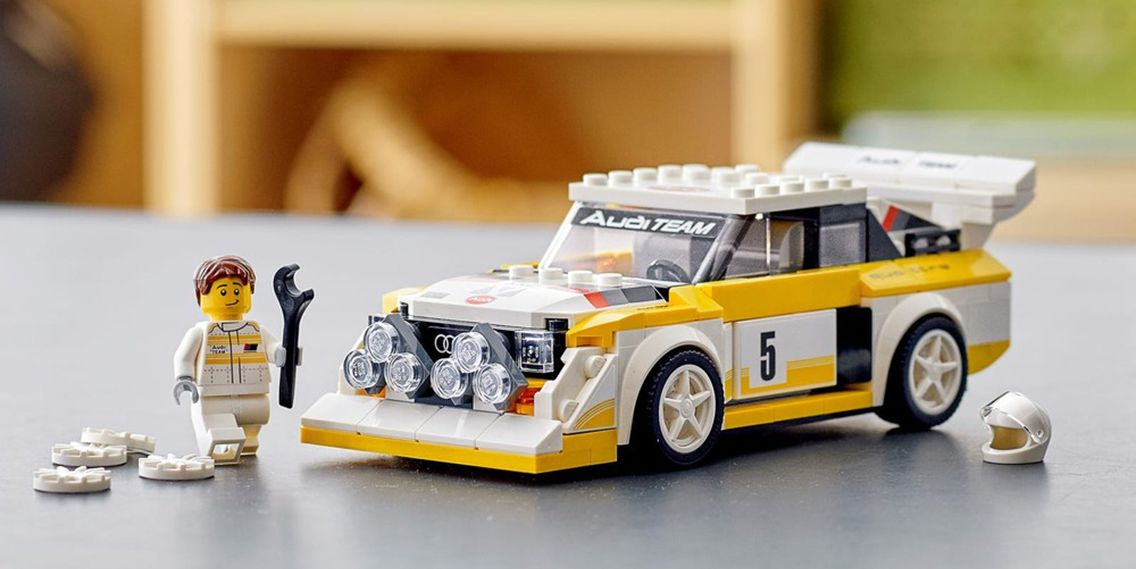 """LEGO 76897 重返1985,探寻""""四驱怪兽""""Sport quattro S1的故事"""