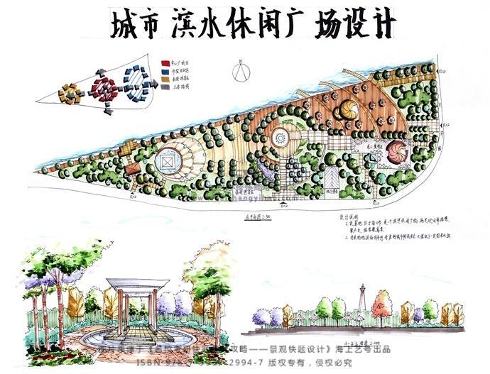 规划功能结构图_城市滨水休闲广场规划设计 - 知乎