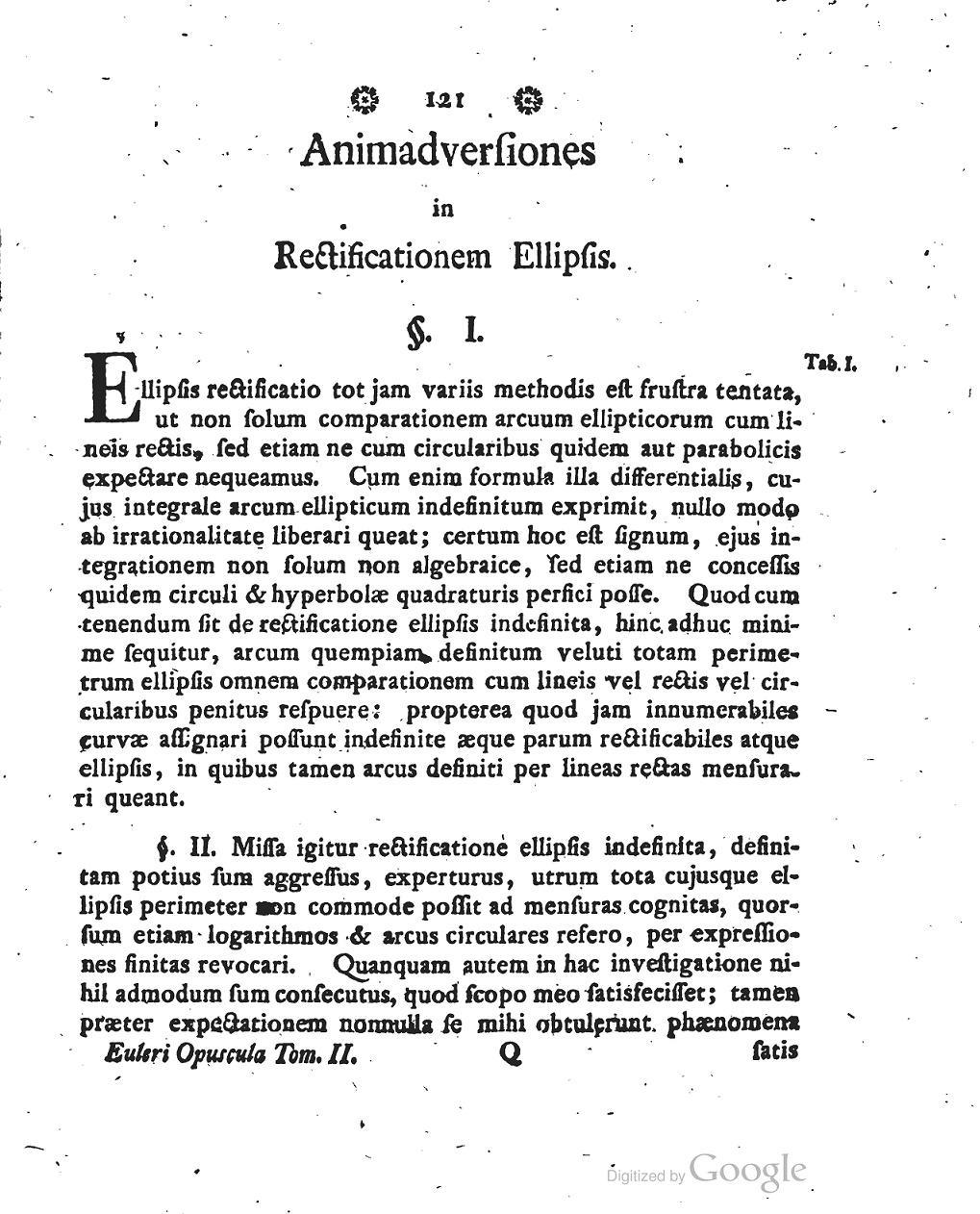 Gauss与AGM(IV-3)