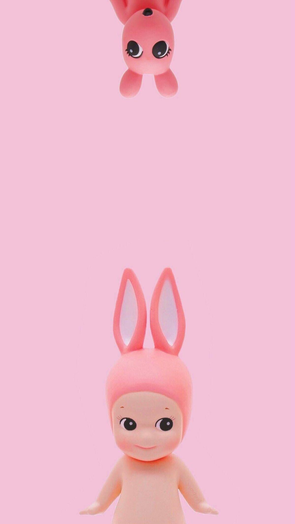 有哪些好看的粉色系的手机壁纸?