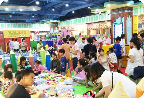 儿童乐园如何设计能够提高收益? 加盟资讯 游乐设备第1张