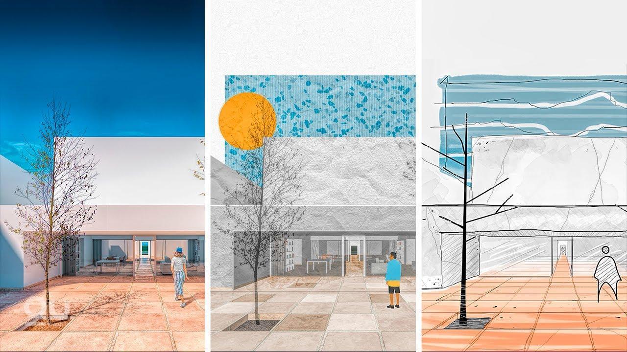 同一个项目,三种表现风格,你喜欢哪一个?