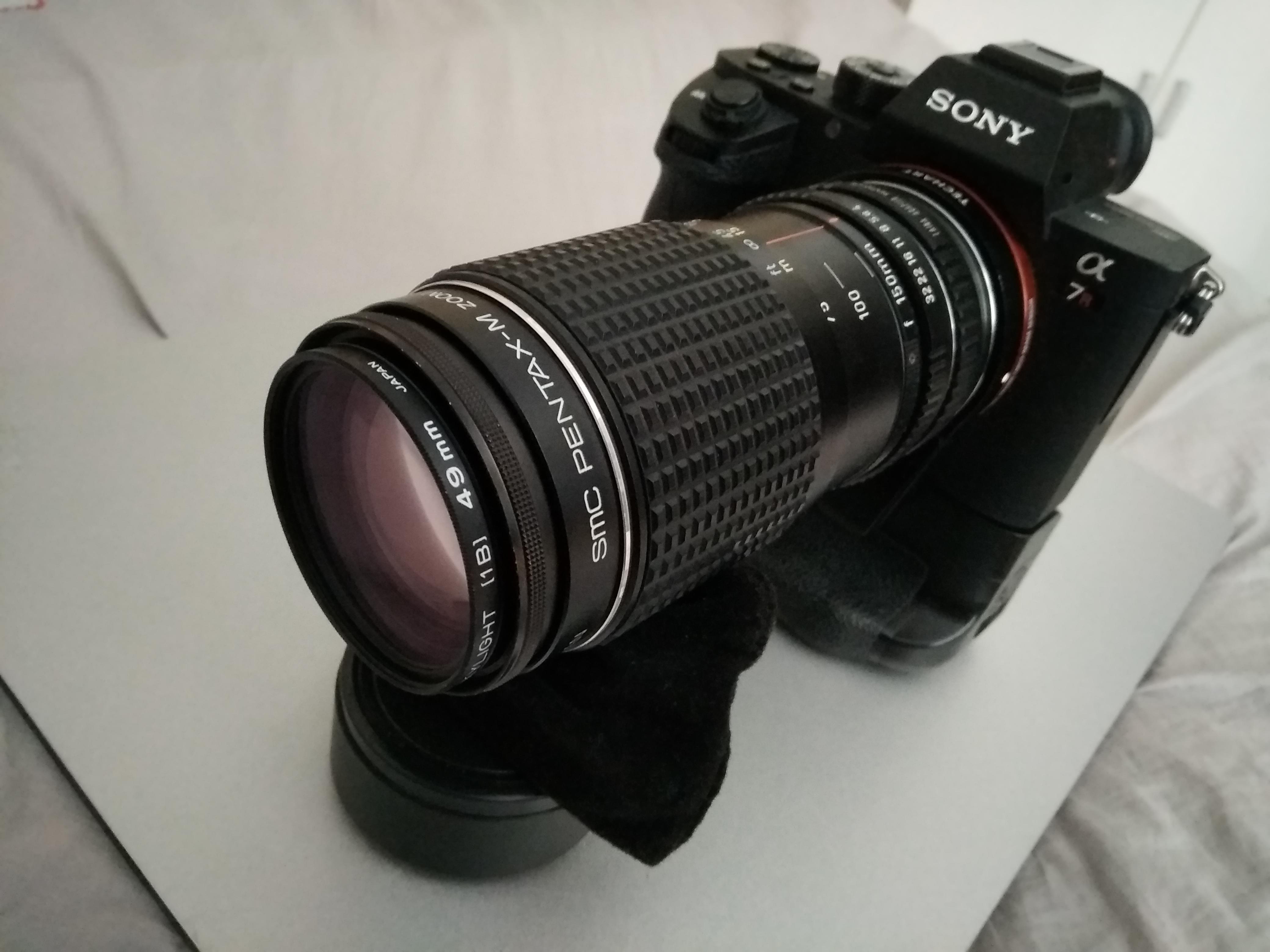 【样片】百元打鸟:宾得 SMC Pentax-M 75-150 F4 恒定光圈变焦镜头