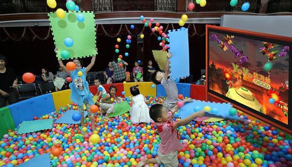 如何打造出让孩子喜欢的儿童乐园? 加盟资讯 游乐设备第4张