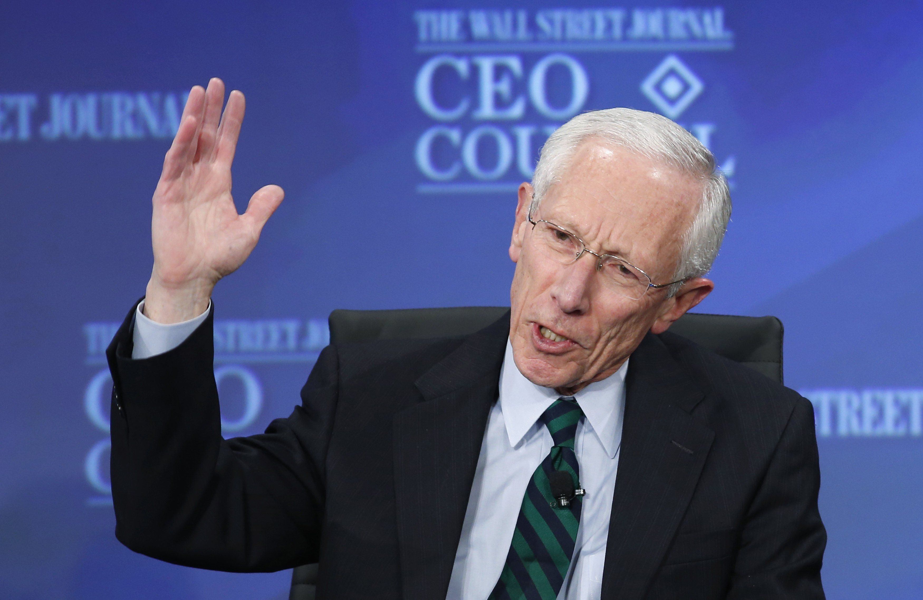 Stanley Fischer谈低利率