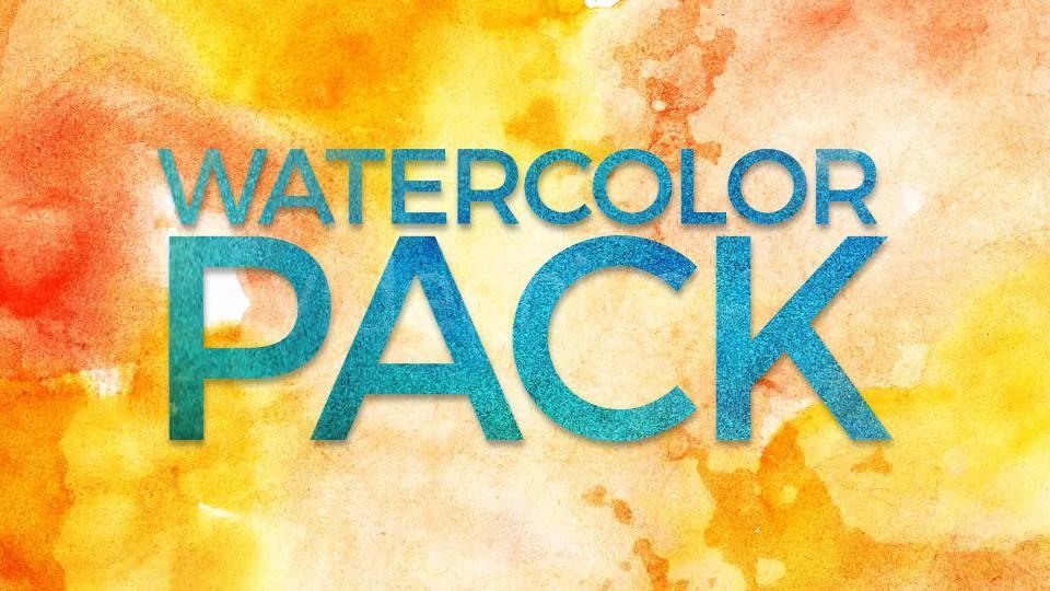 【A34】水彩油漆泼墨喷洒效果4K视频素材