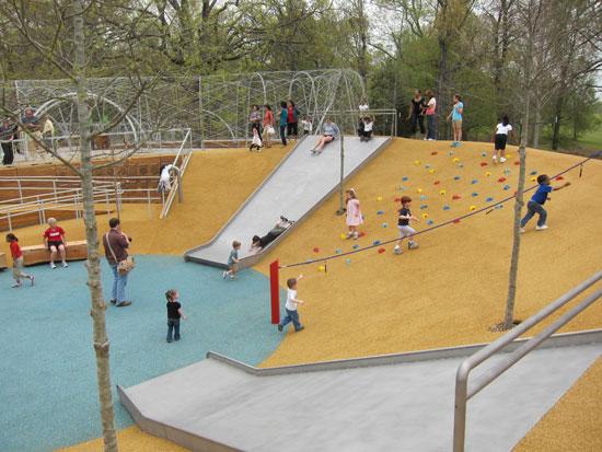 Urban Playground Design Ideas