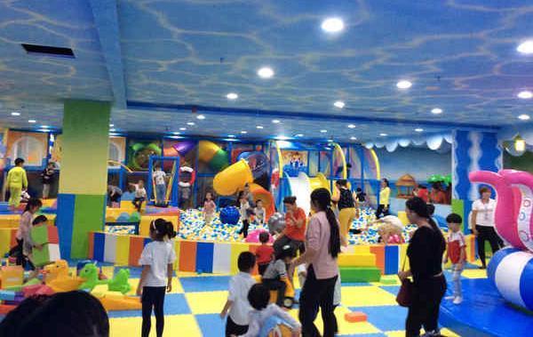 投资开儿童乐园提高客户人气数量的四个方面! 加盟资讯 游乐设备第1张