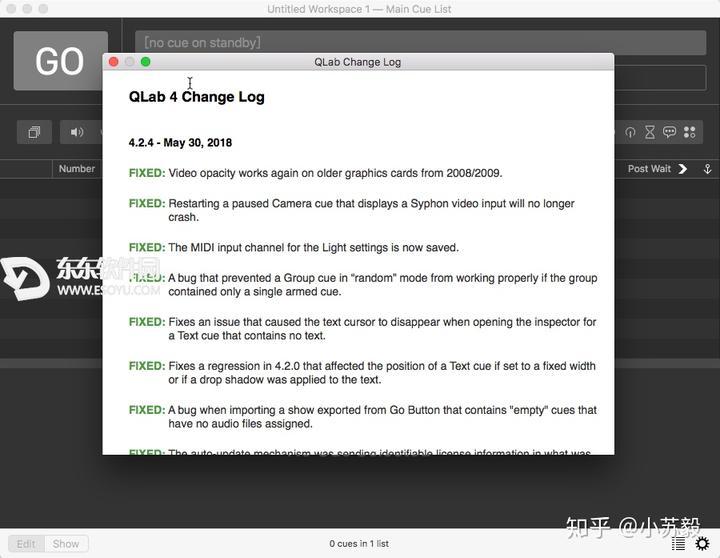 Qlab Group Cues