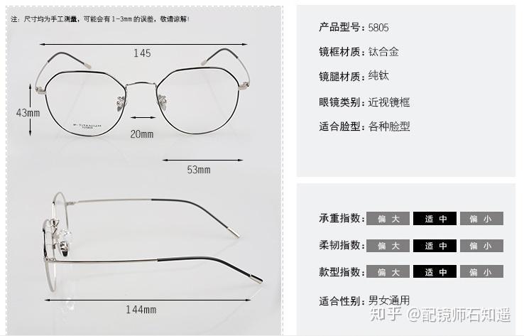 高度近视眼镜框_高度数配镜600-1000度以上 到底能不能配大圆框镜架? - 知乎