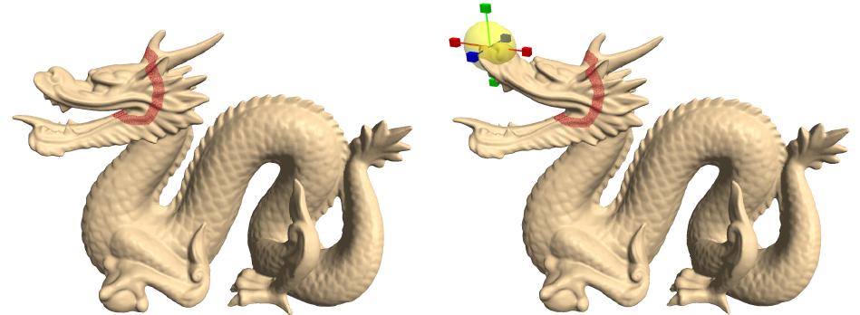 用数学编辑3D模型(一)- Mesh Deformation with Laplacian Coordinates