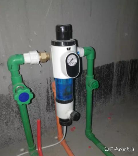 净水的坑有多少,10款前置带你看前置过滤怎么选,细数全屋净水、反冲洗铜前置、大蓝瓶那些事~