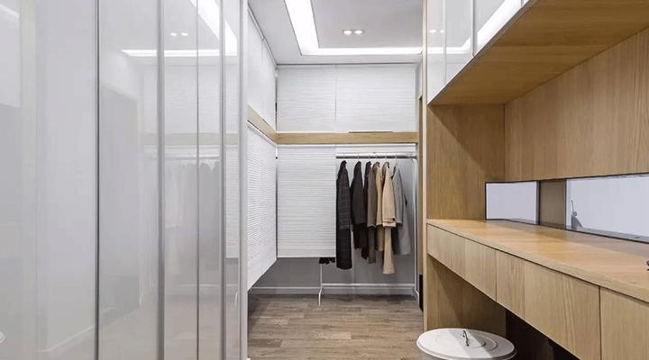 大户型装修设计图_她在卧室隔出走廊,让衣帽间瞬间大一倍 - 知乎
