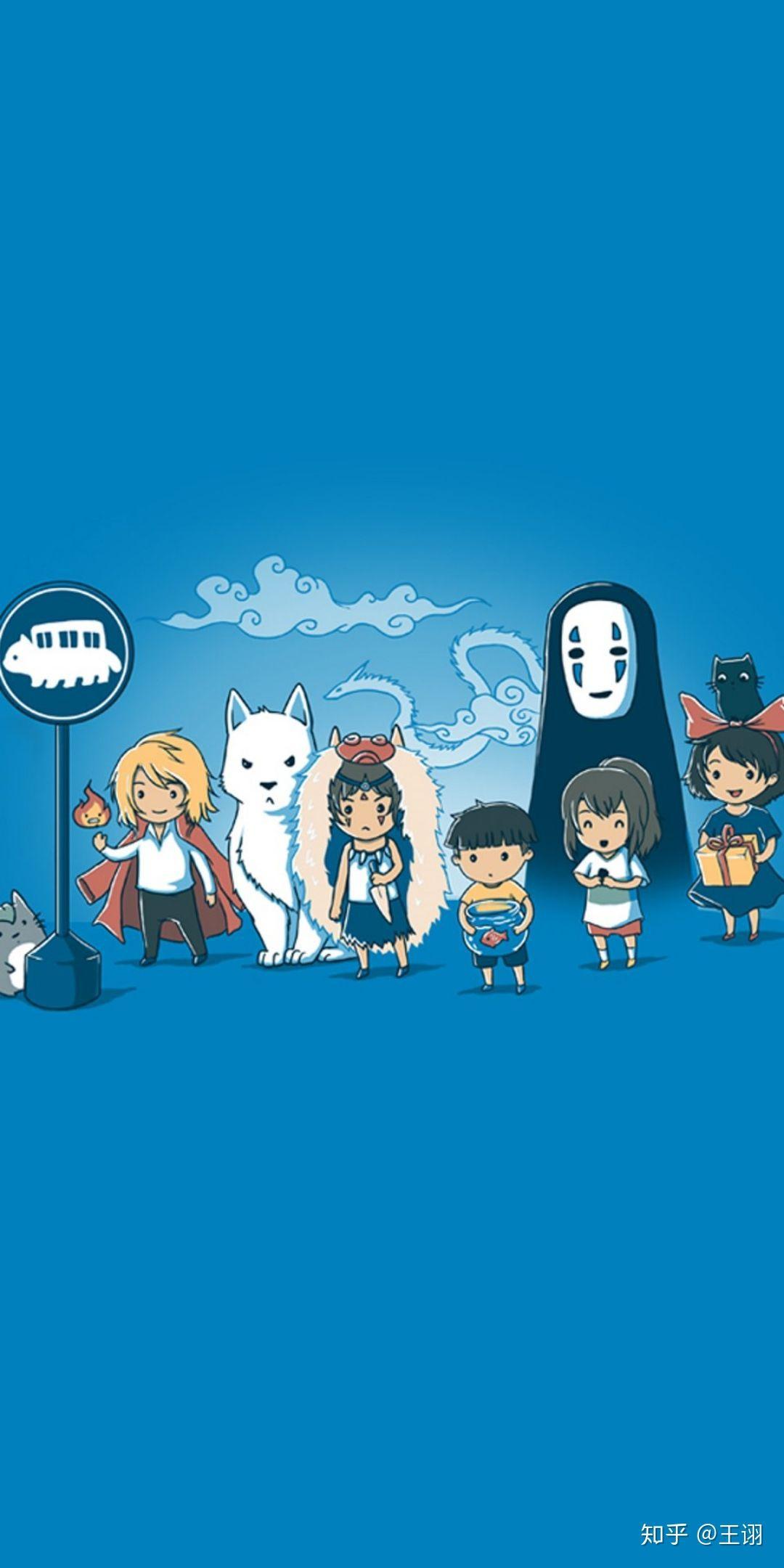 有哪些好看令人难忘的宫崎骏动画里的高清桌面壁纸?