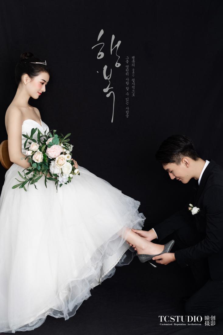 韩式复古妆容_婚纱照什么风格好? - 知乎