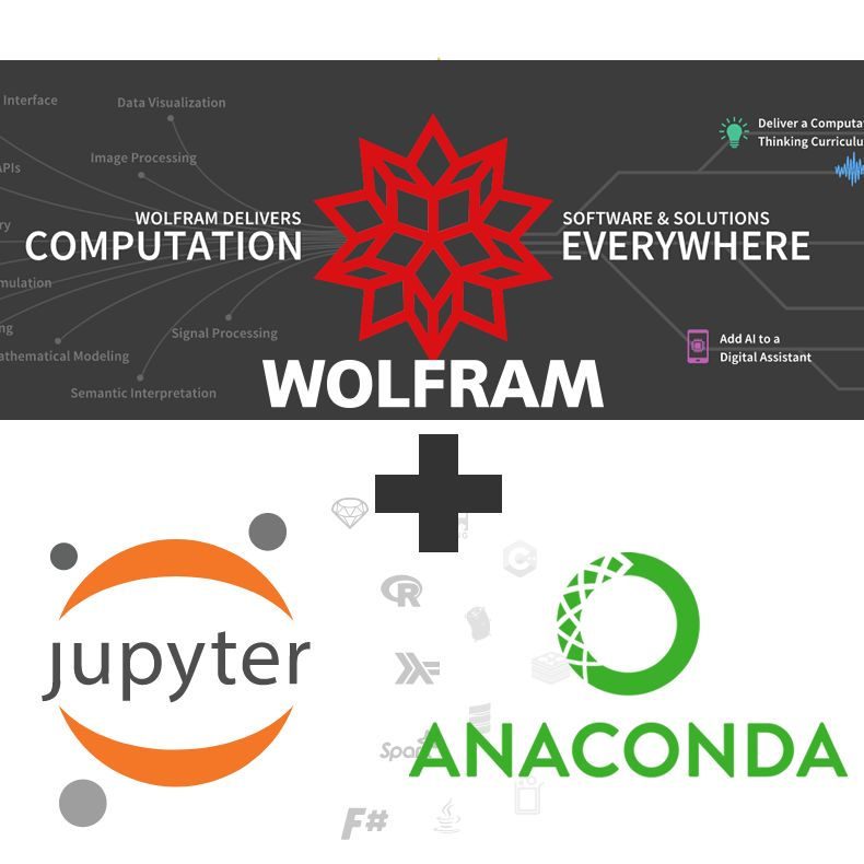 给Anaconda的Jupyter notebook笔记本安装Wolfram engine核心