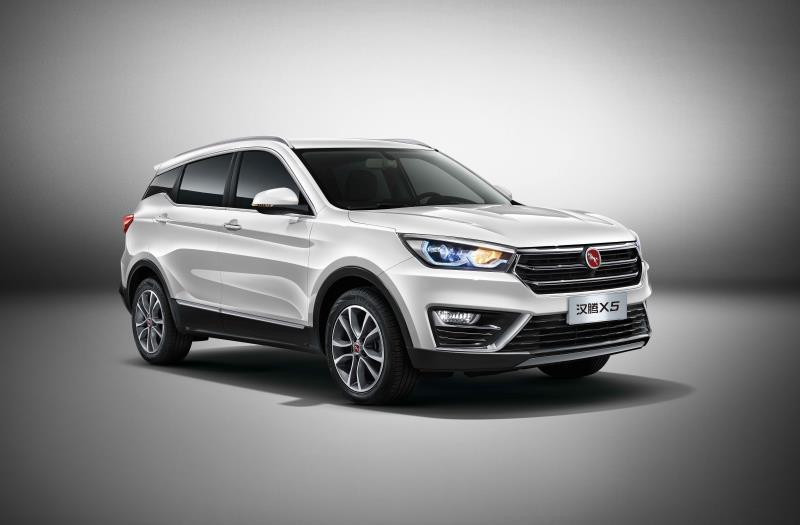 定位新生代品智SUV 汉腾X5成都车展开启西南市场预售