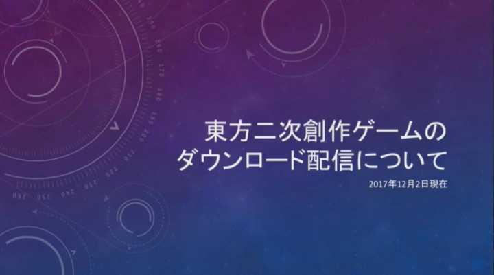 【最新官方规约】包括Steam在内的东方二次游戏的下载发布