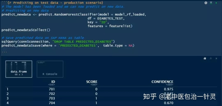 在SAP HANA上使用R语言进行机器学习(2) - 知乎