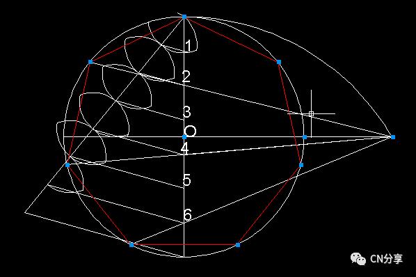 尺规作图,正三边形到正十七边形