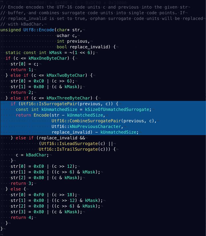 同一个字符的两种UTF-8 编码- 知乎